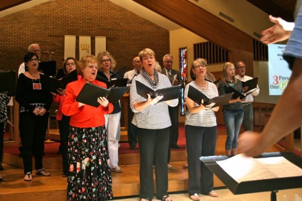 Image of choir singing