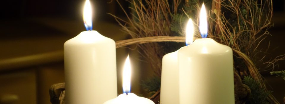 four light candles of varying heights