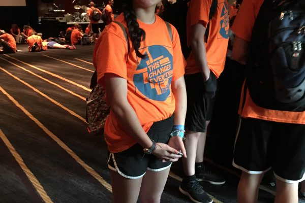 Image of Jessica at the ELCA Youth Gathering in Houston