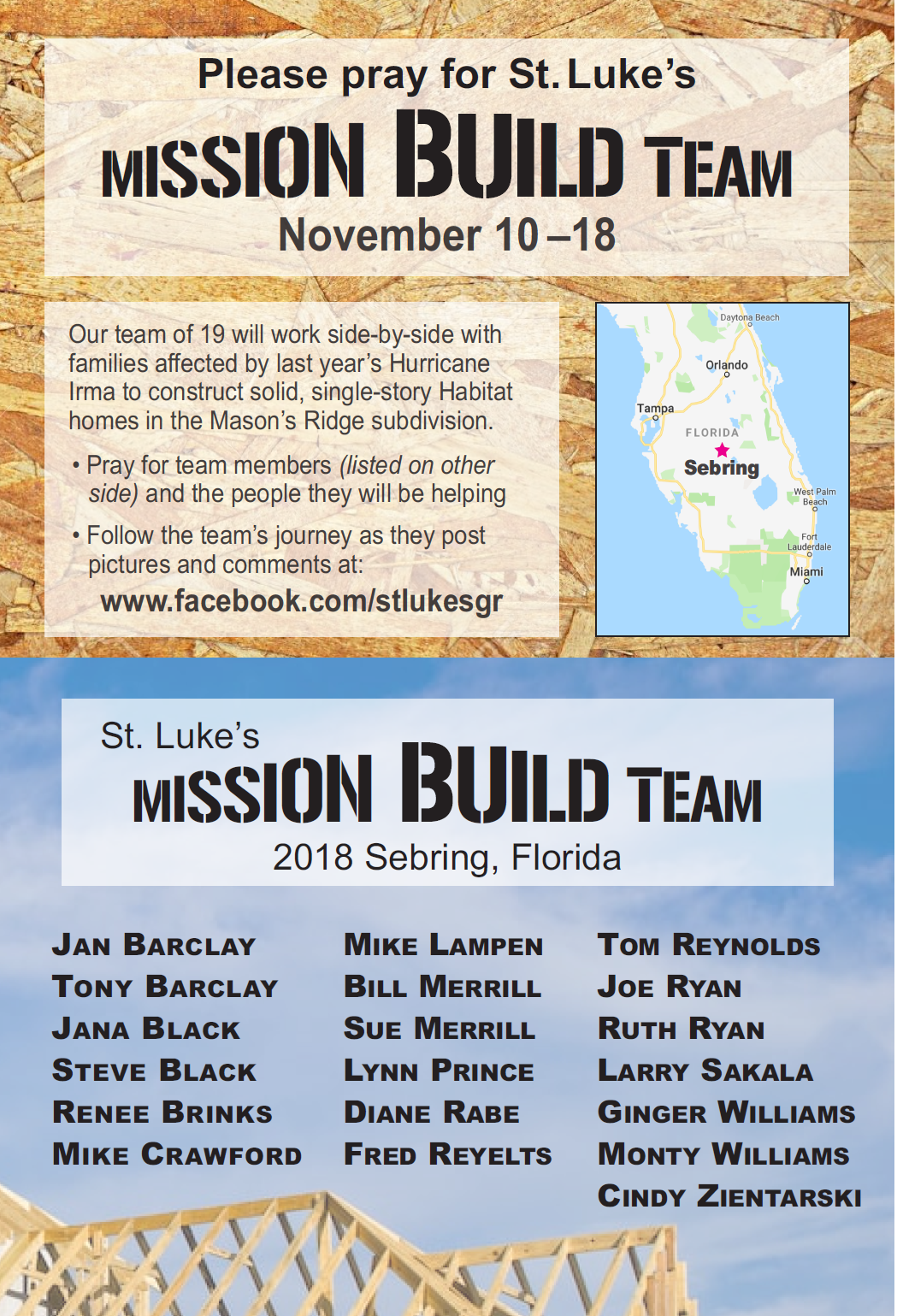 Mission Build Team Members