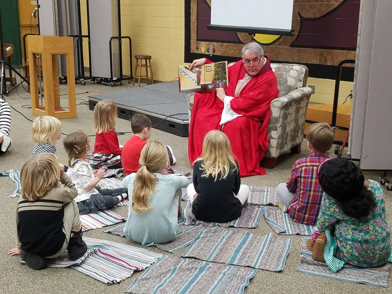 Story Time with St. Nicholas